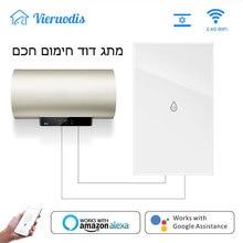 WiFi Smart Boiler Glass Panel Switch Water Heater Life Tuya APP Remote Control Amazon Alexa Echo Google Home Voice