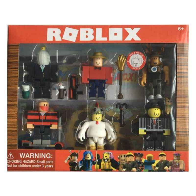 Detail Feedback Questions about 6pcs/set Roblox Roblox Game Figure