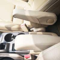 Estilismo de coche, controlador de cuero de microfibra, asiento lateral de pasajero, reposabrazos, cubierta embellecedora para Honda CRV 2007 2008 2009