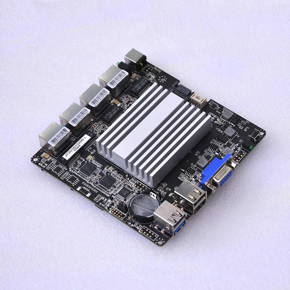 4 * LAN J1900 Mini ITX материнская плата без вентилятора itx плата Q1900G4-M