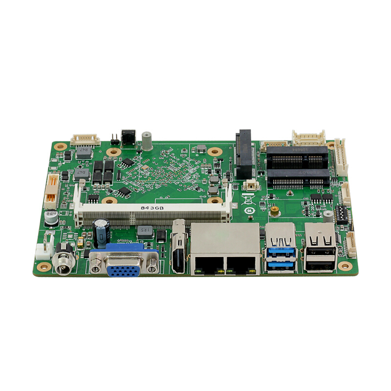 Intel Celeron J1900 Industrial Mini ITX Motherboard Dual NIC 6xCOM 8xUSB WiFi BT HDMI VGA Windows
