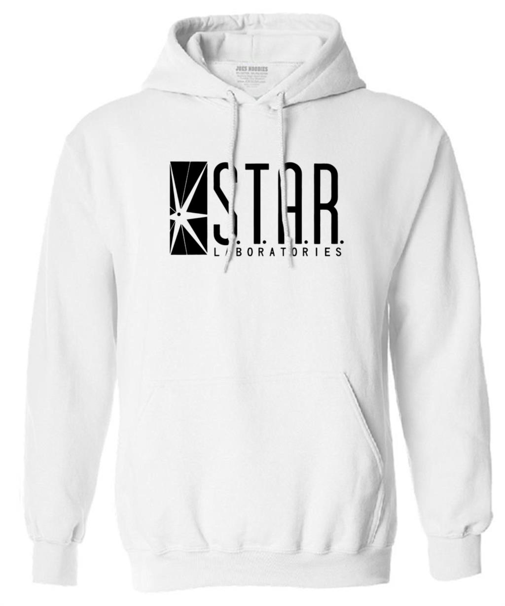 autumn brand hoodies superman series men hoody STAR S.T.A.R.labs jumper the flash gotham city comic books black sweatshirt 10