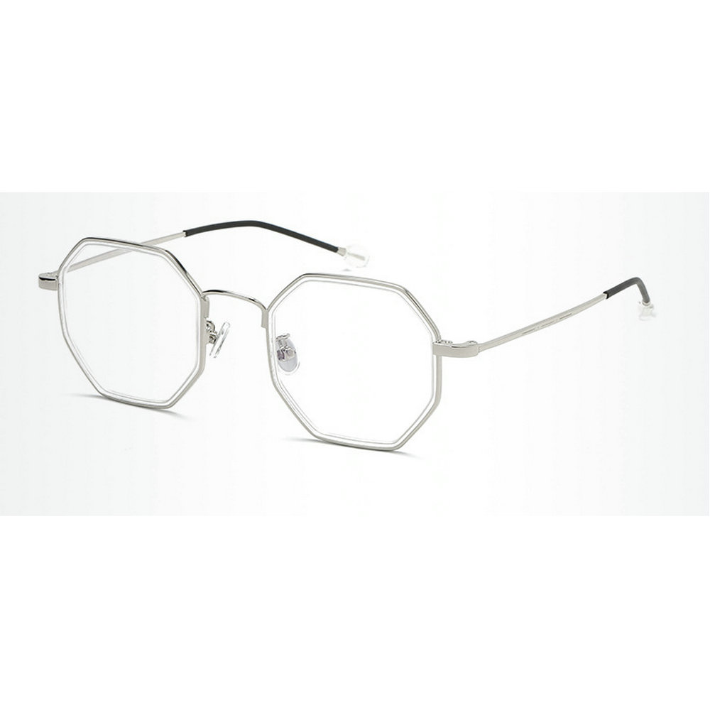 ac622b589bef6 MINCL Vintage Fashion TR90 Octagon Glasses Frame Womens Mend Brand Designer  Clear Lens Glasses Frame gyw-in Eyewear Frames from Apparel Accessories on  ...