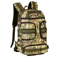 Newest Men Women Outdoor Nylon Shoulders Backpack Rucksack Military Hiking Tactical Laptop Bags PQ98