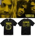 America Nirvana rock band kurt cobain T-shirt Women men's fans short-sleeve t shirt tee male basic top clothing