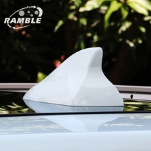 Top Quality Car Shark Fin Antenna Radio For Nissan X-trail Qashqai Aerial Refit Auto Roof Antena Black White Red 3Colors