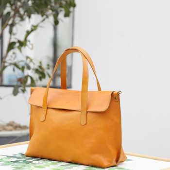 YIFANGZHE Womens Genuine Leather Shoulder Bags, Fashion Girls Handbag /Messenger Bag with large capacity roomy umbrella