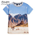 Boy Clothes 3D Ralphie Print T-shirt Short Sleeve Children Tee Shirts Novelty Tattoo Sleeve Baby Boys Tops Kids Clothing