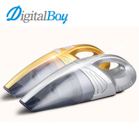 120W Car Vacuum Cleaner Wet & Dry Portable Handheld Vacuum Cleaner 12V Auto Car Vacuum Hand Vac HEPA Filter Clean Super Suction
