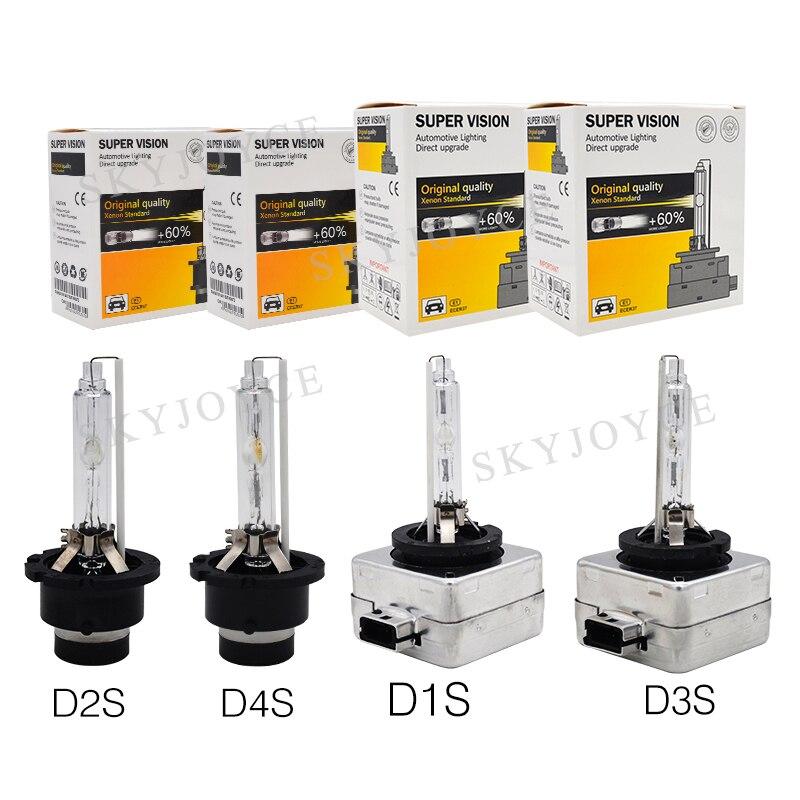 12V 35W D1S D2S D3S D4S HID Bulb Lamp 4300K 5000K Car Headlight Bulb 55W D1S D1R D2S D2R D3S D3R D4S D4R 6000K 8000K HID Bulb