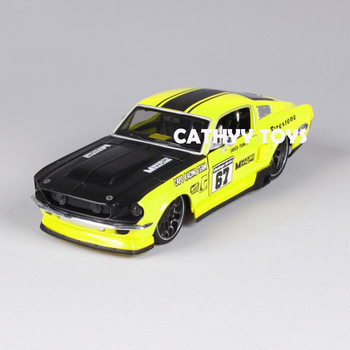 1:24 1967 Ford Mustang GT Involving Cars Muscle Car Collection Children Adult Diecast Model Car Toy for Gifts