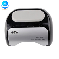 Automatic Sensor 48W Pro CCFL & LED Nail Cure Lamp UV Gel Dryer Light Timer for Gel Polish Timer 10S 30S 60S EU/US Plugn