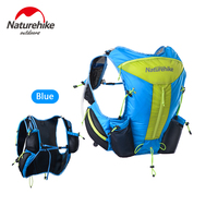 Naturehike 12L Unisex Outdoor Ultralight Hydration Pack Backpack for Running, Marathon, Cycling, Hiking, Skiing NH70B067 B