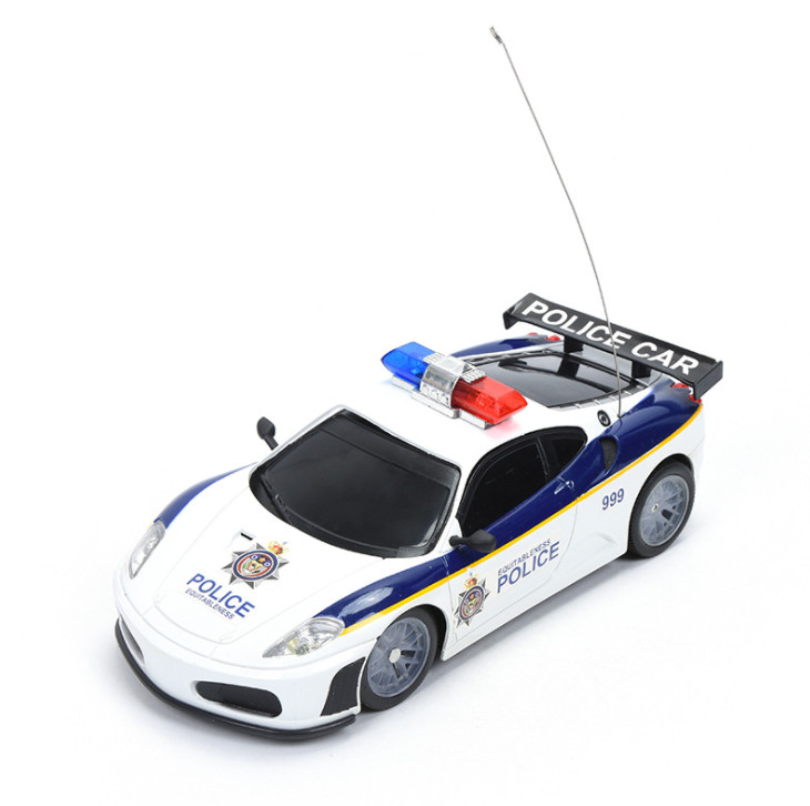 1:20 Scale electric RC car toys for children with fun radio remote control police model car toys for boys gift