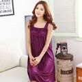 Moda de verano 2015 modelo 5 color seda tirantes sexy lencería para mujer, mujeres de entrega a domicilio gratuito