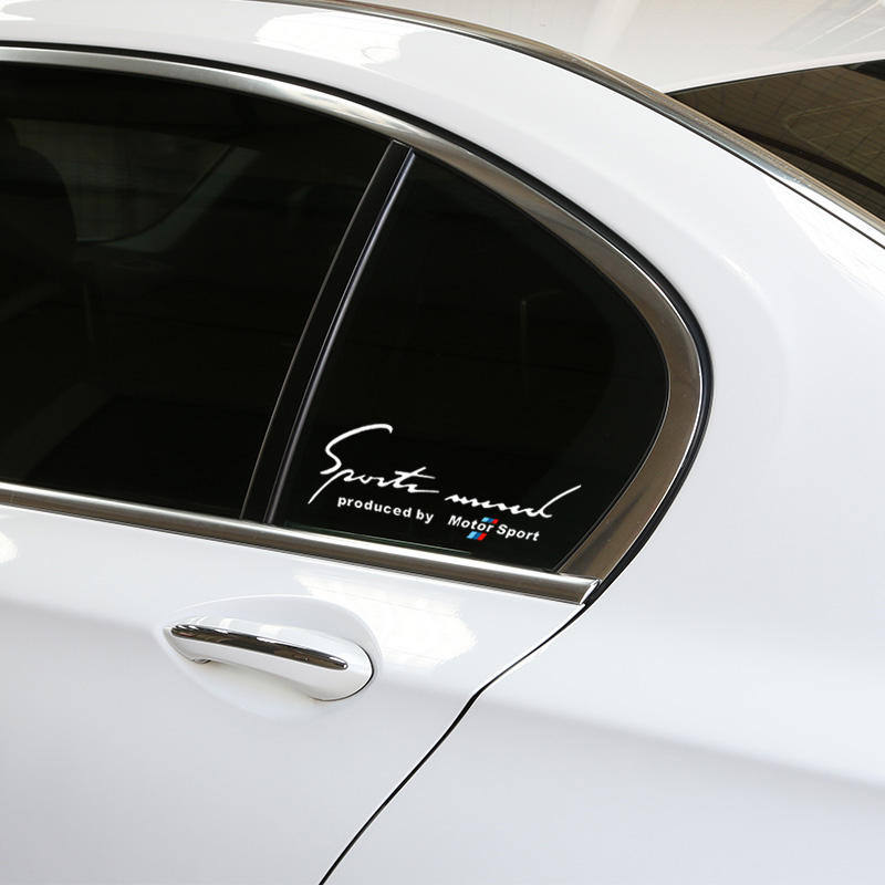Online Get Cheap Bmw Sticker Sport Mind Aliexpresscom Alibaba - Window decals for cars sports
