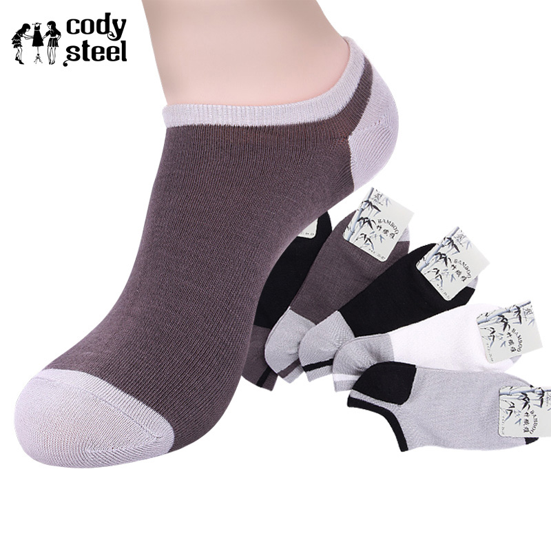 Underwear & Sleepwears Cody Steel Summer Mans Socks Bamboo Fashion Men Brand Socks Casual All-match Designer Socks For Men 5pairs/lot
