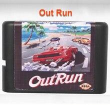 Correr para fora de 16 bits da Sega MD Cartão de Jogo para o Mega Drive para Genesis UE/JP Escudo