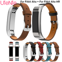 For Fitbit Alta smart watch frontier/classic replacement strap For Fitbit Alta HR Real leather watchband wristband accessories