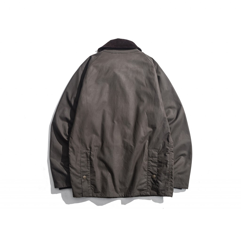 Men's Wax Oil Coat Waxed Waterproof Jacket Vintage Clothes Trench Coat-in Jackets from Men's Clothing    2