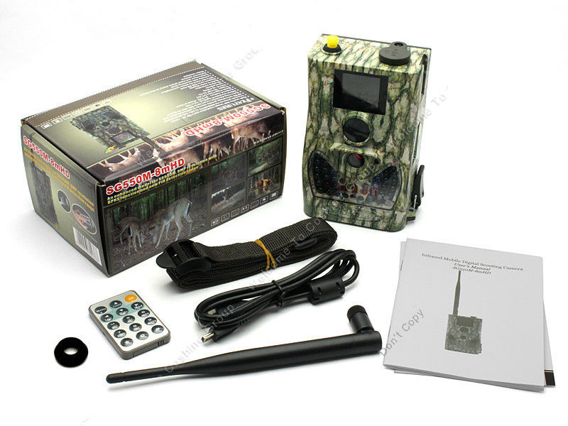 Free Shipping ScoutGuard SG550 12mHD GPRS MMS to Cell Phone Hunting Scouting font b Trail b