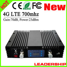 Wholesale New 4G repeater LTE 700mhz AGC LCD cellular mobile/cell phone signal repeater booster amplifier detector splitters