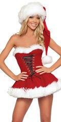 Immagini Babbo Natale Donna.Us 17 76 15 Di Sconto Babbo Natale Costume Sexy Costumi Di Natale Donne Vestito Di Natale Per La Donna Disfraces Costumi Adulti Sexy Costume Da