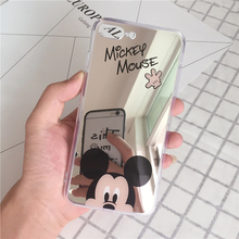 Cartoon Mickey Minnie Mouse Case For iPhone X /  5S SE/ 6(s) /7/8 Plus