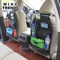 1 pcs Car Auto Voltar Organizador Do Assento Bags Assorted Bag Bolso Preto assento de Carro de volta saco Carro saco de armazenamento multifuncional