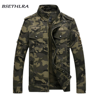 BSETHLRA 2017 Camouflage Jacket Men Autumn Army Military Outwear Jaqueta Masculino Fashion Windproof Coats Male Jackets