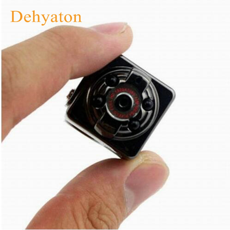 2018 Smallest Mini Digital Camera Full HD CMOS 2.0 Mega Pixel 640*480 DV DVR 720P Audio Video Camera Recorder Mini Camcorder JPG