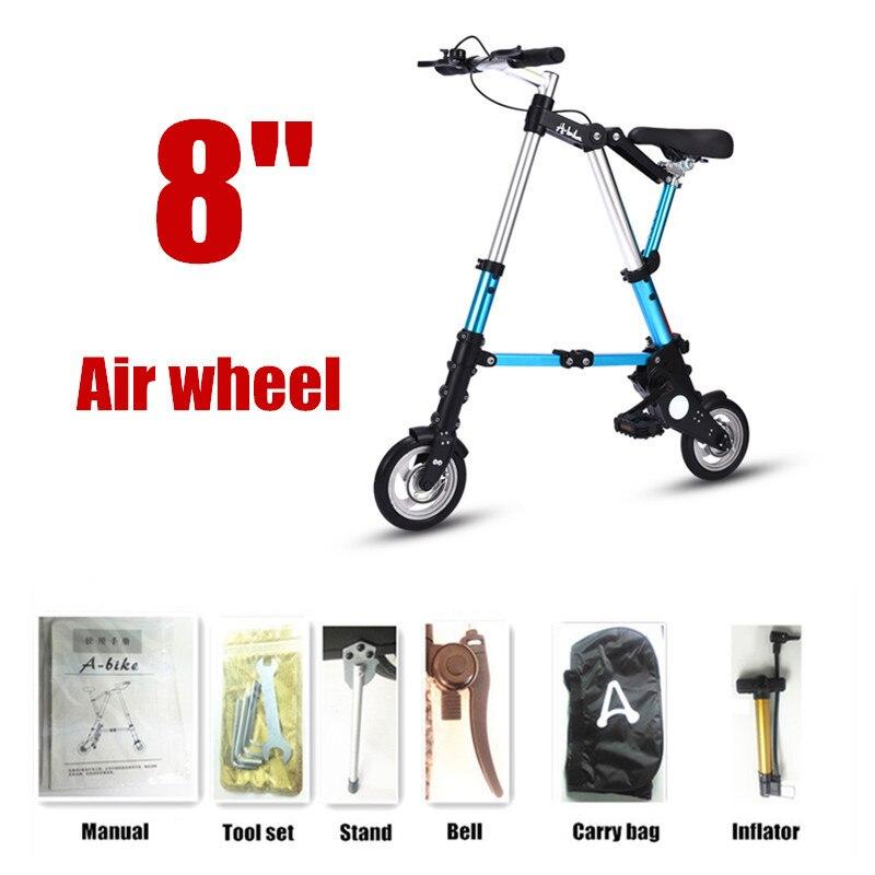 8 Air wheel blue