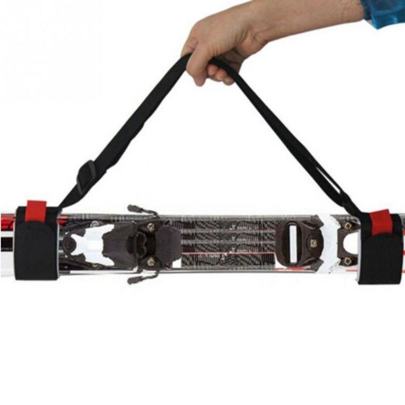Shoes Adjustable Portable Ski Board Carrier Shoulder Sling Carry Strap Belt 450*50mm