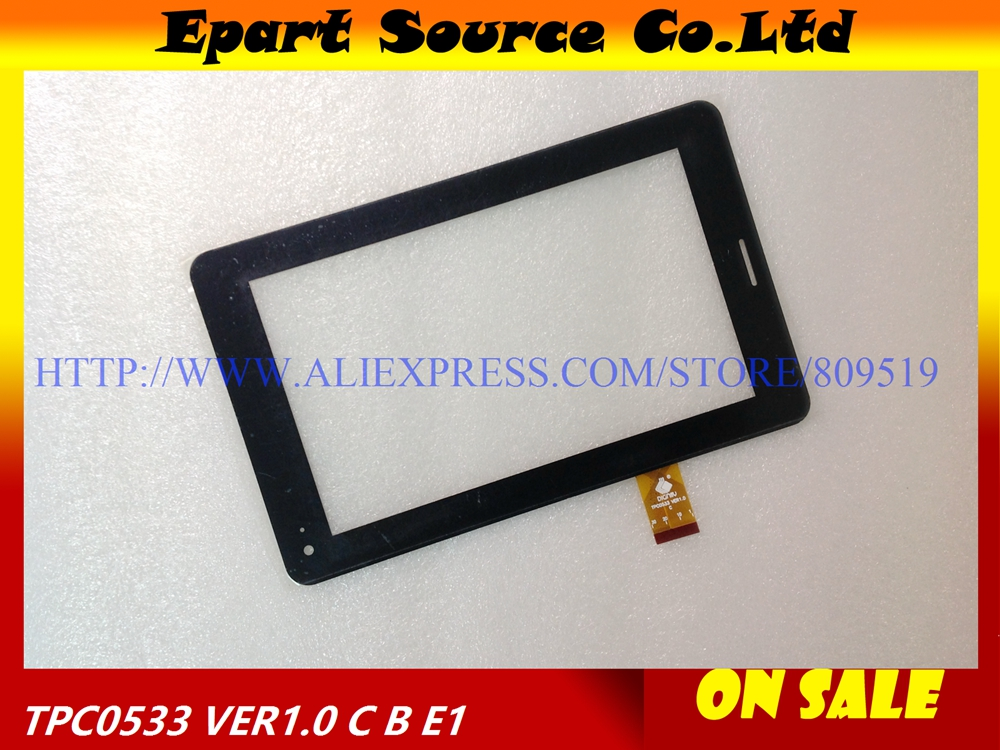 A+ 7 Touch Screen for Tablet TPC1219 Ver1.0 TPC0533 Glass Panel Digitizer Sensor Replacement