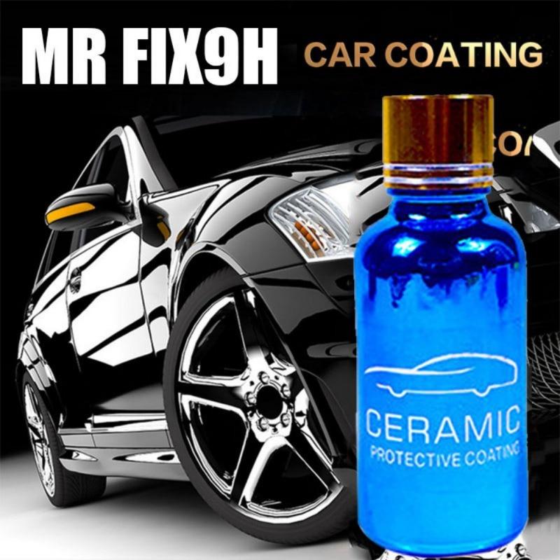 30ML Car Liquid Ceramic Coat Plating Solution Anti-scratch 9H Hardness Super Hydrophobic Glass Coating