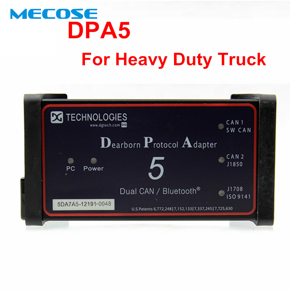 2019 DPA5 Dearborn Protocol Adapter 5 Heavy Duty Truck Diagnostic Tool DPA 5 Same With Nexiq USB link 2 Diesel Truck Diagnostic