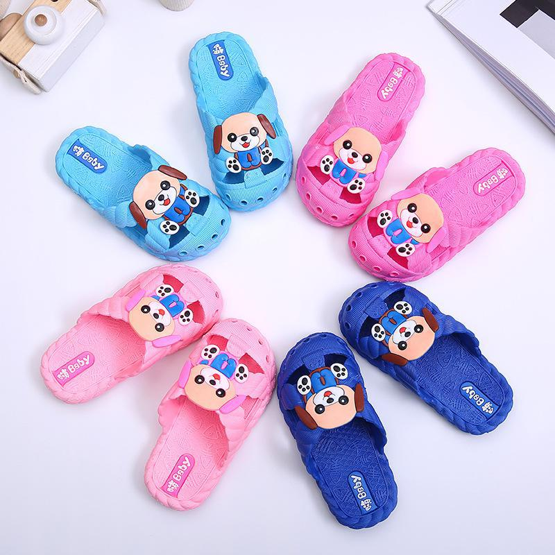 New Summer Kids Boys Girls slippers Cute Sandals Baby Casual Beach Sandals Shoes