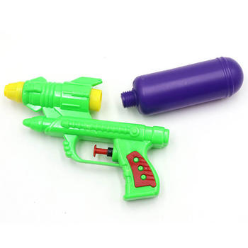 Wecute Water Guns Toys Classic Baby Toys Outdoor Beach Water Pistol Blaster Gun Portable Squirt Gun Kids Beach Toys Random Color 3