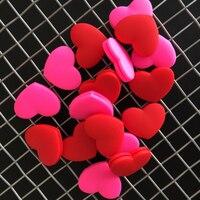 Красный и розовый Теннисный про персонал Теннисный амортизатор для ракетки  чтобы уменьшить Вибрация ракетки для тенниса