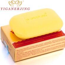 1piece yiganerjing handmade sulfur soap skin whitening Moisturizing blackhead remover acne