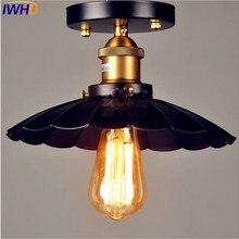 IWHD Эдисона промышленный Лофт светодиодный потолочный светильник для гостиной освещение Plafondlamp Edison винтажная Потолочная люстра для домашнего освещения