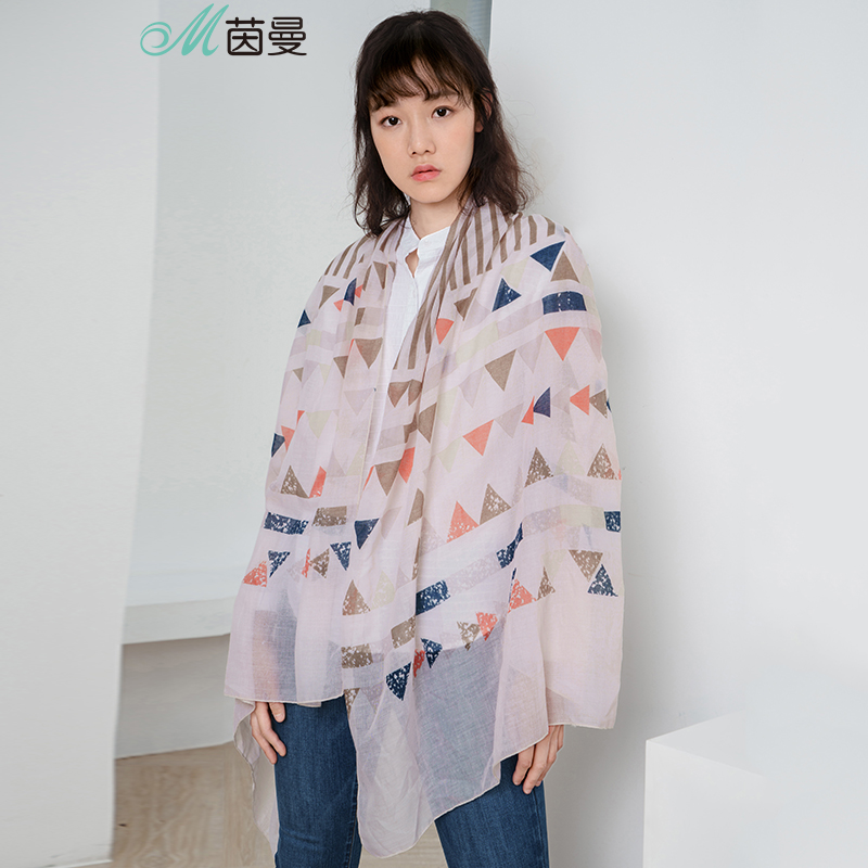 INMAN 1883140292 Scarf Women Spring Spring Autumn Seaside All-matching