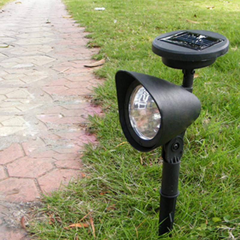 Outdoor Solar Lamp Garden 3 LED Solar Powered Spot Landscape Spot Light LED Spotlight Lamp Energy Saving Garden Lamp