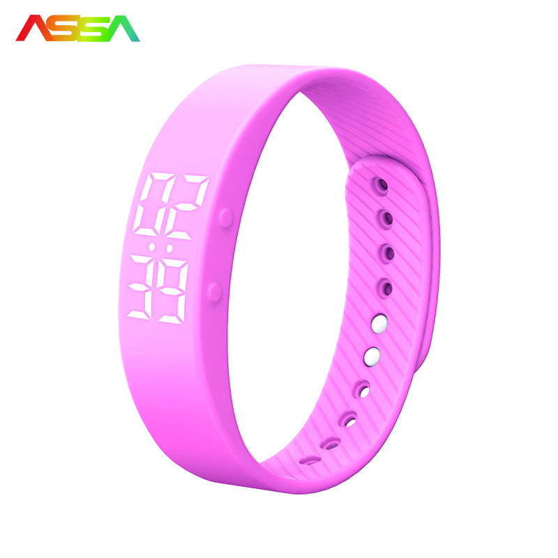 Fashion Bluetooth Smartwatch Realtime Showing Waterproof Smart Wristband LED Screen Fitness Tracker Sports Sleep Men Smart
