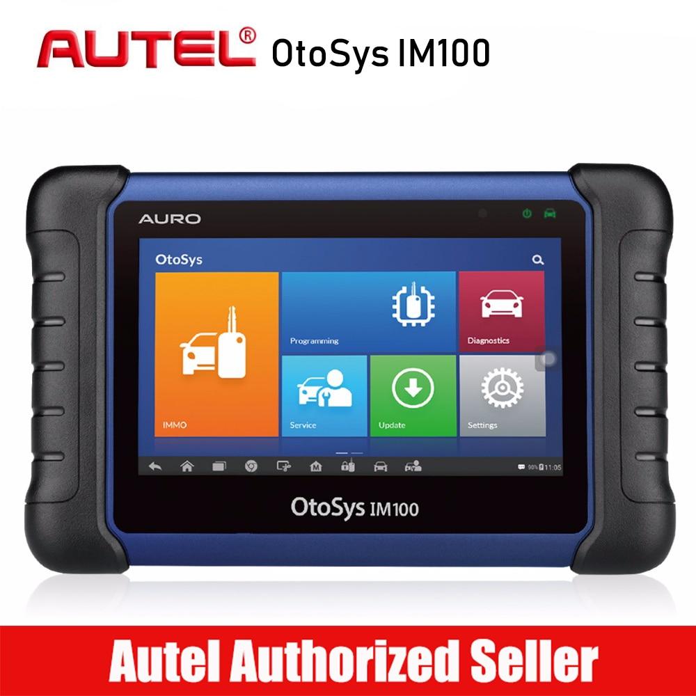 Aurodiag OtoSys IM100 Auto Key Programming Immobilizer Diagnostic Scanner All System Oil Reset EPB/BMS/SAS/DPF/TPMS IM600