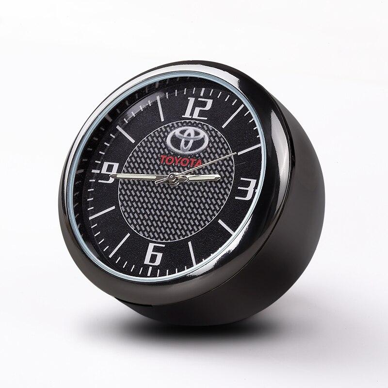 Car Clock font b Electronic b font Watch Decoration Car Accessories Car interior fragrance Clock Quartz