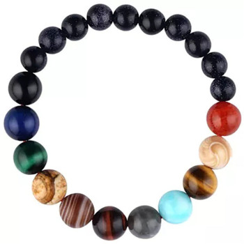 Women's Planet Themed Beaded Bracelet Bracelets Jewelry New Arrivals Women Jewelry Metal Color: 6 cm