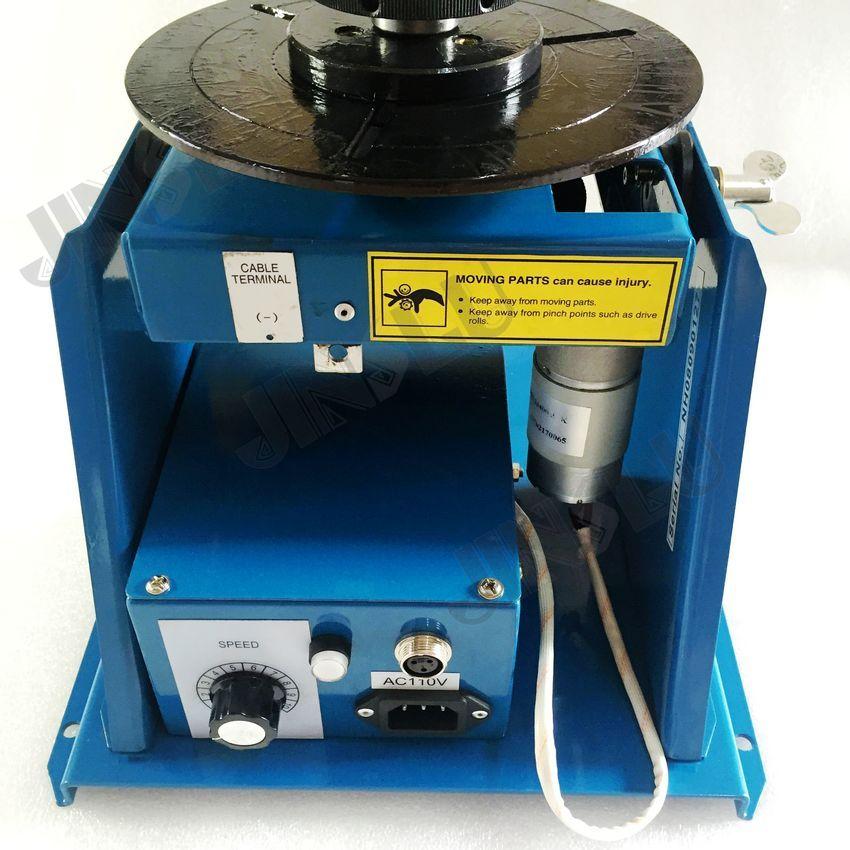 Mini rotatore di saldatura posizionatore di saldatura BY-10 110V con - Attrezzatura per saldare - Fotografia 4