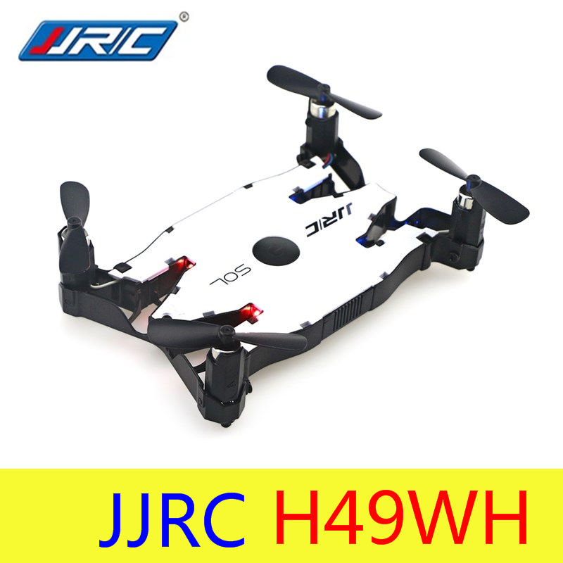 JJR/C JJRC H49WH H49 SOL Selfie Drone mini Dron RC Drones with Camera HD FPV Quadcopter Drone RC Helicopter Air Pressure VS H37 jjrc h12c rc helicopter 2 4g 4ch rc quadcopter drone dron with hd camera vs x5sw x6sw mjx x101 x400 x800 x600 quadrocopter toys