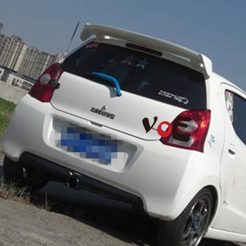 2009 2010 2011 2012 2013 2014 2015 Alto ABS Plástico Spoiler Traseiro De Plástico para Suzuki Alto